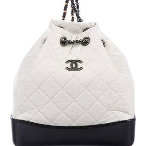 CHANEL Aged Calfskin Quilted Gabrielle Backpack